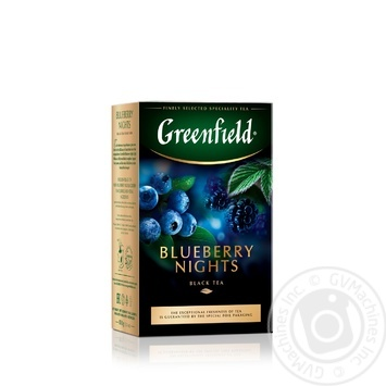Greenfield Blueberry Nights Black Tea 100g - buy, prices for MegaMarket - image 2