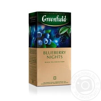 Чай черный Greenfield Blueberry Nights 25шт*1,5г 37,5г - купить, цены на Метро - фото 6