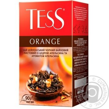Tess Orange black tea 90g - buy, prices for MegaMarket - image 2