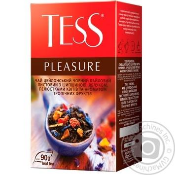 Чай черный Tess Pleasure 90г - купить, цены на Метро - фото 2