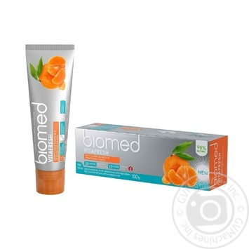 Зубна паста Biomed Vitafresh 100г - купити, ціни на CітіМаркет - фото 2