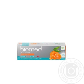 Зубна паста Biomed Vitafresh 100г - купити, ціни на Novus - фото 1