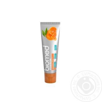 Зубна паста Biomed Vitafresh 100г - купити, ціни на Varus - фото 3