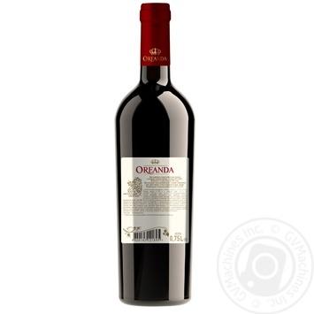 Oreanda Pinot Noir Wine red semi-sweet 12% 0,75l - buy, prices for MegaMarket - image 2