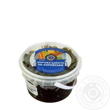 Морская капуста 100 вкусов по-корейски 400г - купить, цены на Ашан - фото 1