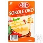 Mlekovita Sokole Oko Smoked sliced cheese 45% 150g