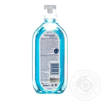 Ополаскиватель для полости рта Sensodyne Прохладная мята 500мл - купить, цены на Novus - фото 2