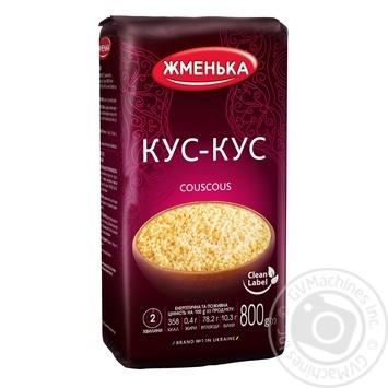 Zhmenka wheat couscous groat 800g - buy, prices for CityMarket - photo 1