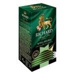 Чай зеленый Richard Royal Melissa в пакетиках 25шт*1.8г - купить, цены на Ашан - фото 3