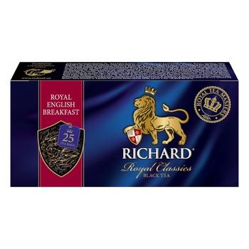 Richard Royal English Breakfast black tea 25pcs*2g - buy, prices for CityMarket - photo 6