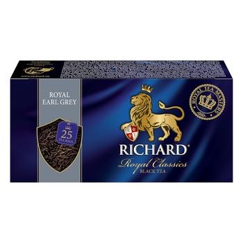 Richard Earl grey black tea 25pcs*2g - buy, prices for Tavria V - photo 3