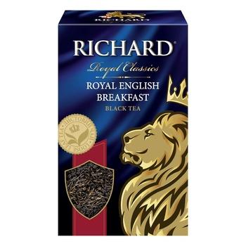 Richard English Breakfast black tea 90g - buy, prices for Auchan - photo 4