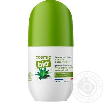 Дезодорант Cosmia Bio с алоэ вера роликовый 50мл