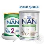 Смесь молочная Nestle Nan 2 Кисломолочный сухая для детей с 6 месяцев 400г - купить, цены на Novus - фото 7