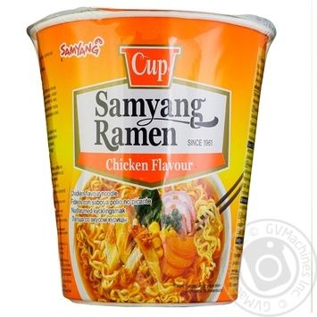 Samyang Ramen noodles with chicken of quick-cooking 85g