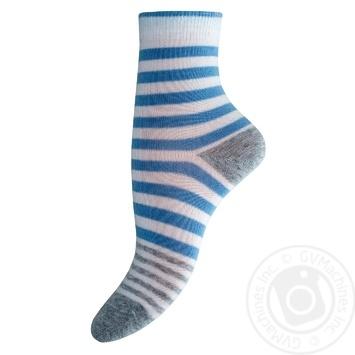 Legka Choda White And Blue Women's Socks 25s - buy, prices for MegaMarket - image 1