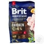Food Brit Premium with chicken dry for pets 3000g
