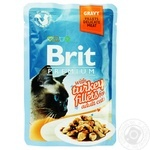 Food Brit turkey in sauce for cats 85g