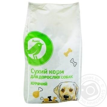 Сухий корм Ашан для дорослих собак курячий 2.5кг