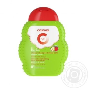 Cosmia Kids 3in1 Apple-Pear Shampoo 250ml - buy, prices for Auchan - photo 1