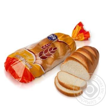 Батон Кулиничи Слобожанский пшеничный высшего сорта нарезанный 450г - купить, цены на Восторг - фото 1