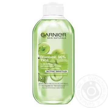 Тонік Garnier для нормальної/змішаної шкіри 200мл - купити, ціни на МегаМаркет - фото 1