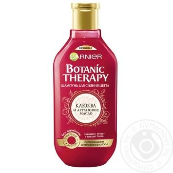Шампунь Botanic Therapy Аргановое масло и клюква 400мл - купить, цены на Novus - фото 1