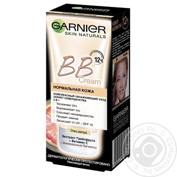 Крем Garnier Секрет совершенства с тонирующим эффектом для нормального типа кожи светло-бежевый 50 мл
