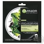 Маска Garnier Skin Naturals Очистительный Уголь и водоросли 28г
