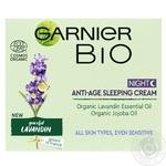 Крем Garnier Bio Anti-age ночной для лица с лавандой 50мл