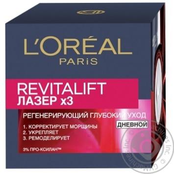 Крем для лица L'oreal Paris Revitalift Laser Х3 50мл