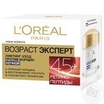 L'Oreal Dermo Expertise Trio Active Age Expert lifting anti-age care 45+  Night Cream - buy, prices for Novus - image 1