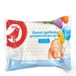 Auchan baby wet wipes 24pcs