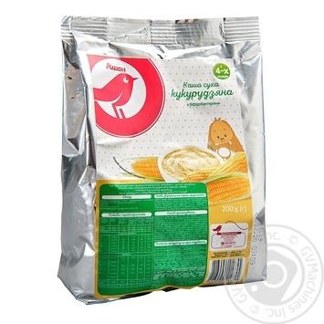 Каша Ашан кукурузная для детей с 4 месяцев 200г