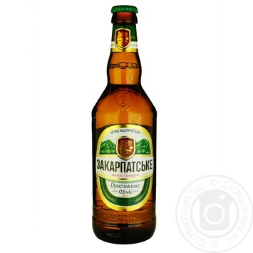 Пиво ППБ Закарпатское Оригинальное светлое 4% 0,5л