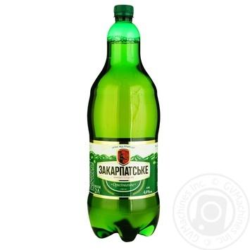 Пиво ППБ Закарпатское Оригинальное светлое 4% 2л