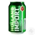 Holland Import Light Beer 4,8% 0,33l
