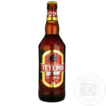 Пиво ППБ Тетерев Хмельная вишня полутемное 8% 0,5л - купить, цены на Фуршет - фото 3