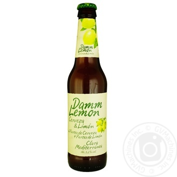 Estrella Damm Lemon Light Beer 3,2% 0,33l - buy, prices for Auchan - photo 1