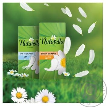 Прокладки ежедневные Naturella Сamomile Light 20шт - купить, цены на Ашан - фото 3