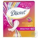 Ежедневные прокладки Discreet Summer Fresh 60шт - купить, цены на Ашан - фото 2