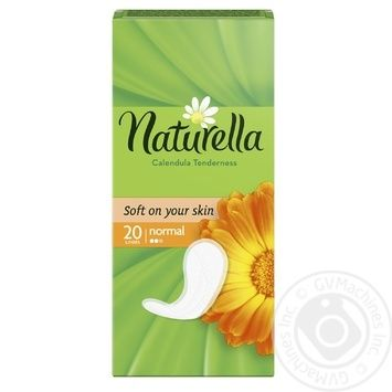 Ежедневные прокладки Naturella Calendula Normal 20шт - купить, цены на Novus - фото 2