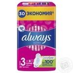 Гигиенические прокладки Always Ultra Super Plus размер 3 30шт - купить, цены на МегаМаркет - фото 2