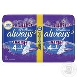 Always Ultra Platinum Night Duo Hygienical Pads 12pcs - buy, prices for Novus - image 2