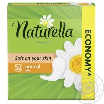 Прокладки щоденні Naturella Camomile Normal 52шт - купити, ціни на Ашан - фото 3