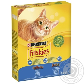 Friskies With Salmon And Vegetables Dry Cats Food 300g - buy, prices for Tavria V - image 5