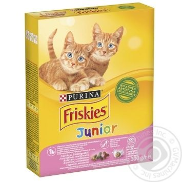 Корм для котят Friskies Junior сухой с курицей, молоком и овощами 300г - купить, цены на Ашан - фото 5