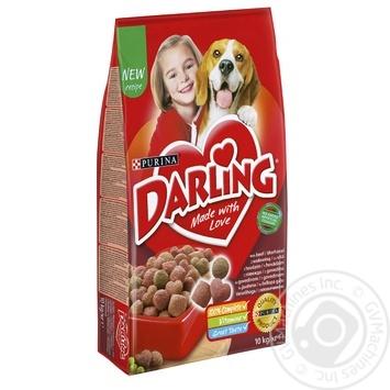 Корм сухой Darling с мясом и овощами для собак 10кг