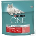 Purina One Sterilcat Dry For Steril Cat Food 1,5kg
