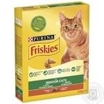 Friskies Vegetables And Chicken With Dry For Indoor Cats Food